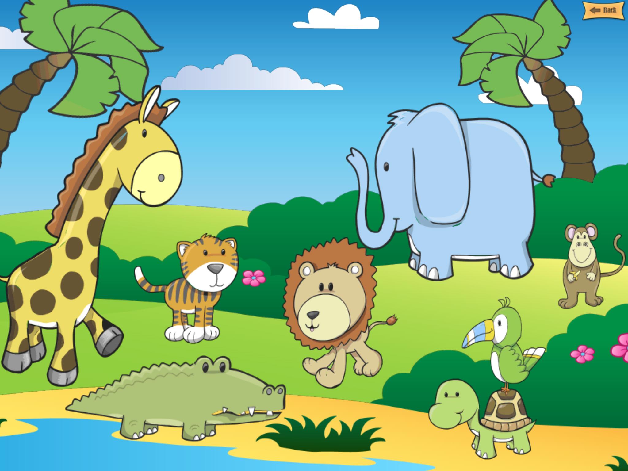 Safari Animals For Kids Safari