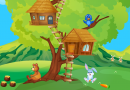 tree house animals